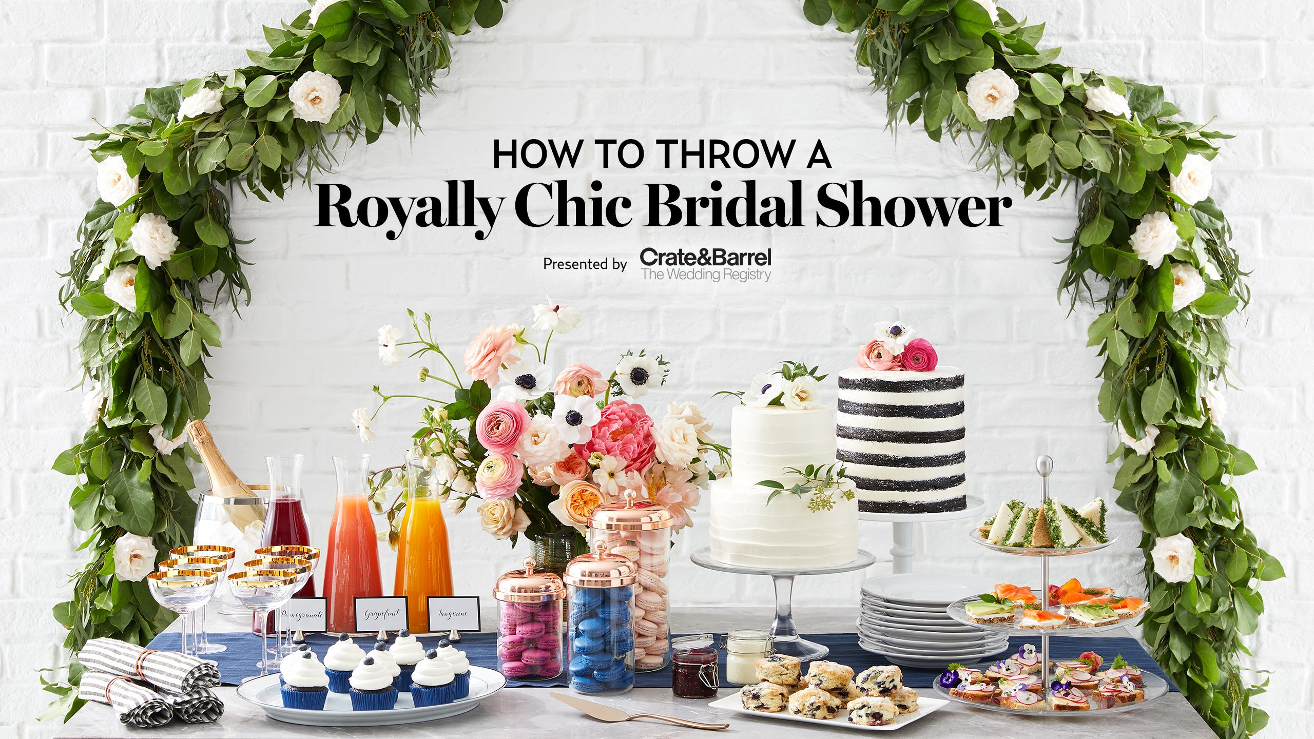 for some fresh bridal shower inspo were taking cues from our favorite couple across the pond celebrity party planner shawn rabideau shares his tips