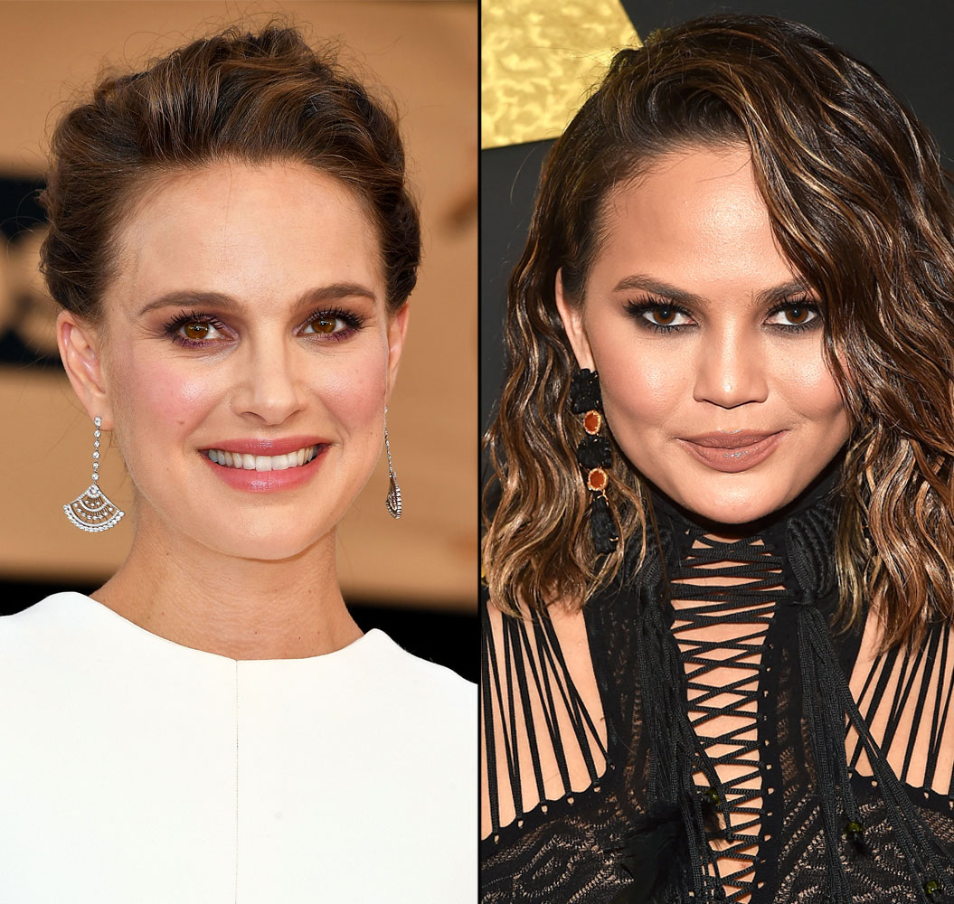 Natalie Portman and Chrissy Teigen