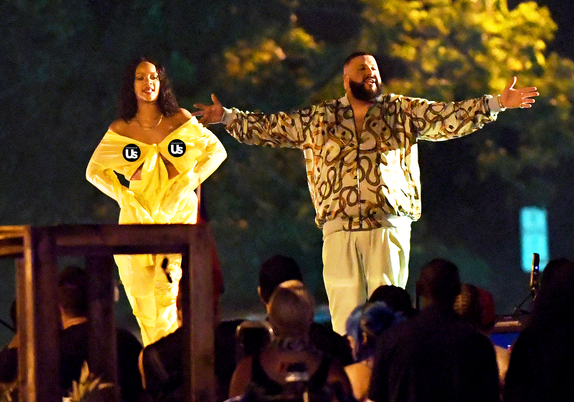 Rihanna and DJ Khaled