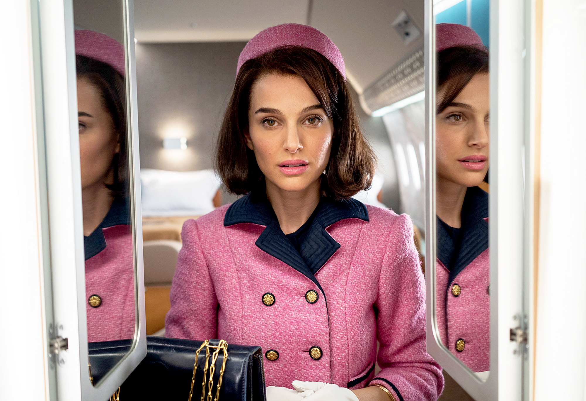 What katie holmes thought of natalie portman s portrayal for Jackie kennedy movie