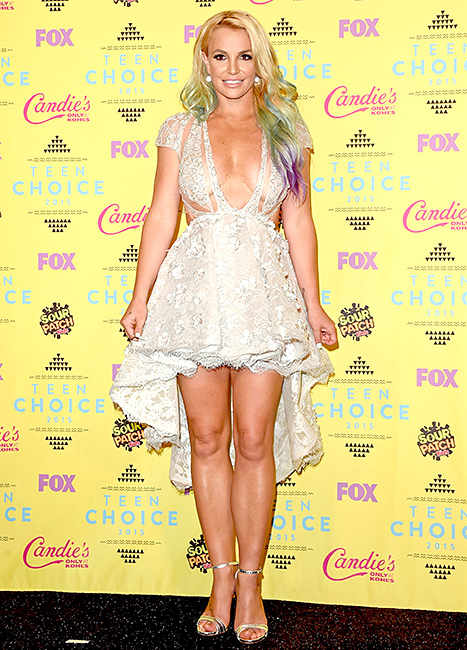 Britney Spears - Teen Choice Awards (press room)