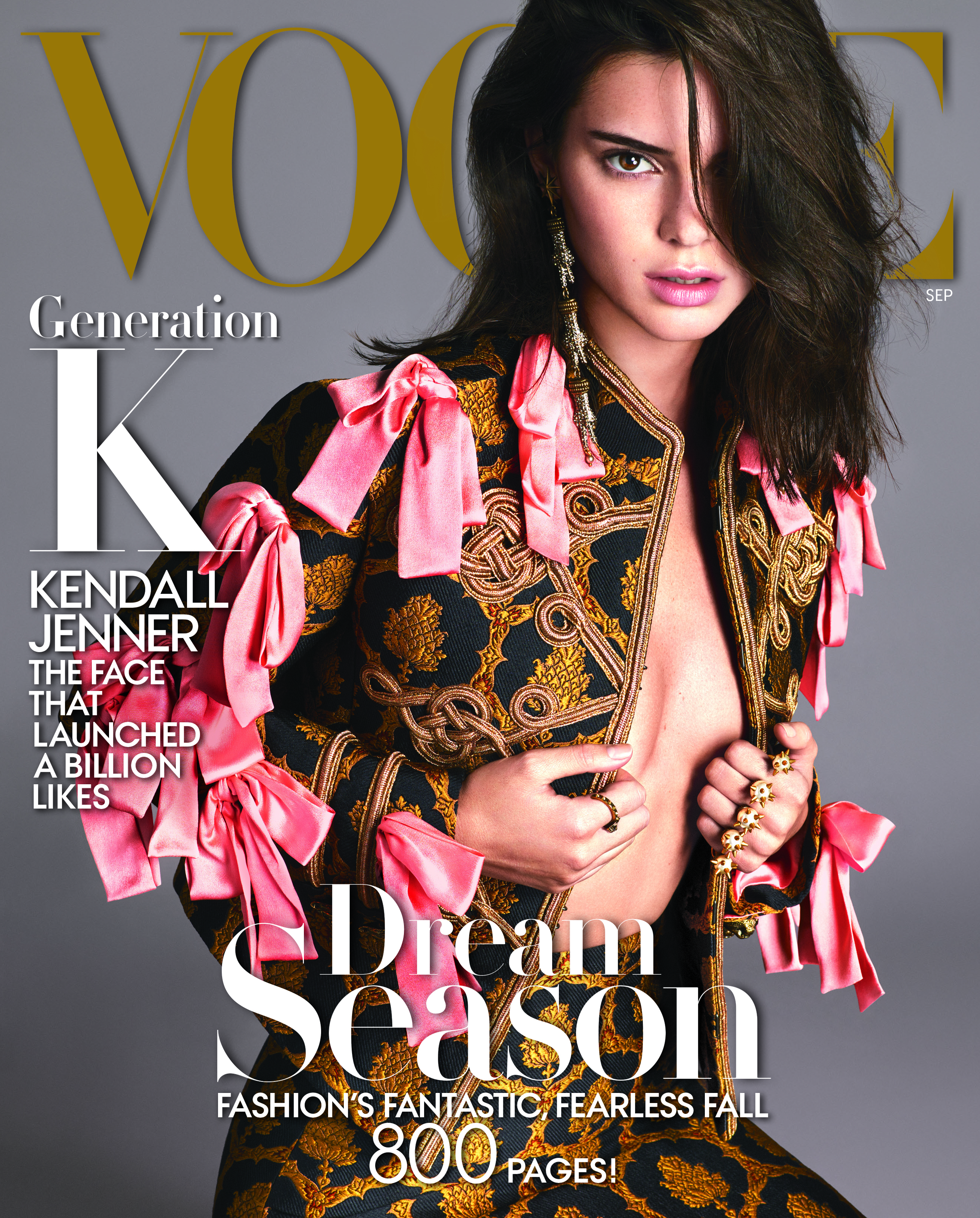f674b8a9a768b9 Kendall Jenner Covers Vogue s September 2016 Issue
