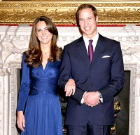 Kate Middleton and Prince William - engagement