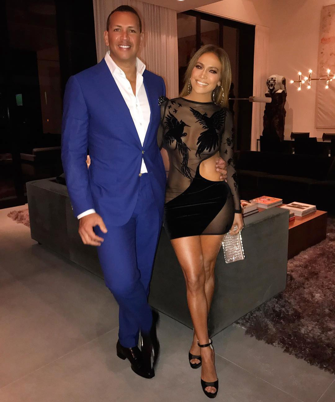 Alex Rodriguez and Jennifer Lopez