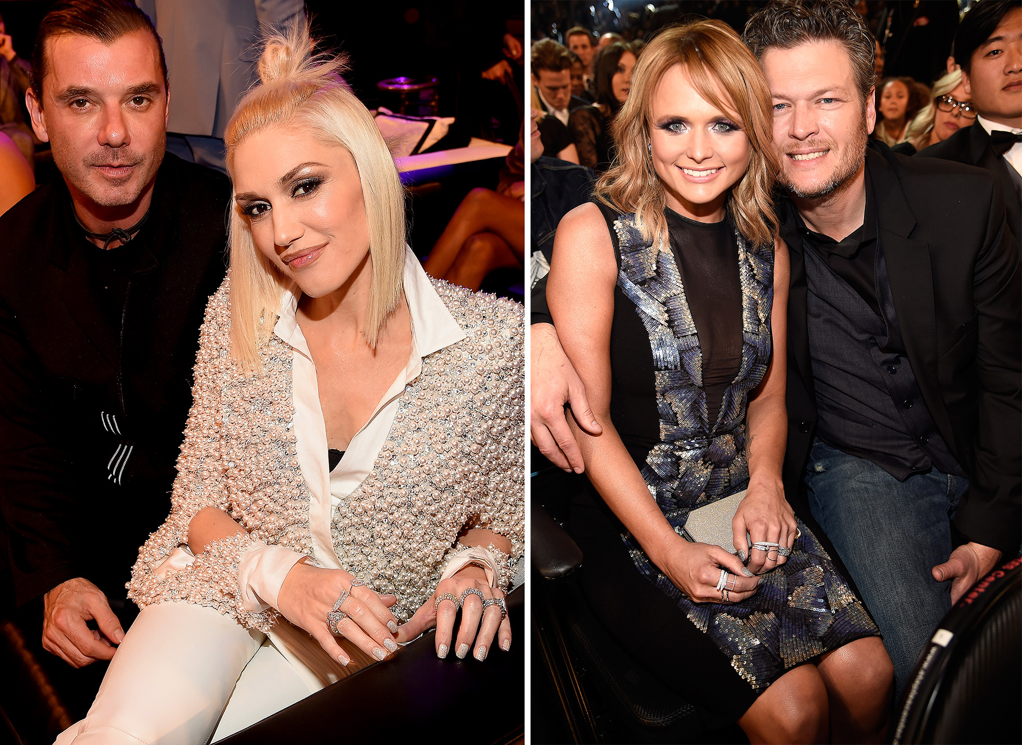 Blake Shelton Gwen Stefani Gavin Rossdale Miranda Lambert - Stefani and Shelton split from their respective spouses, Gavin Rossdale and Miranda Lambert, within two weeks of each other in July and August 2015. The country singer and Lambert shockingly announced July 20 that they were splitting after four years of marriage.