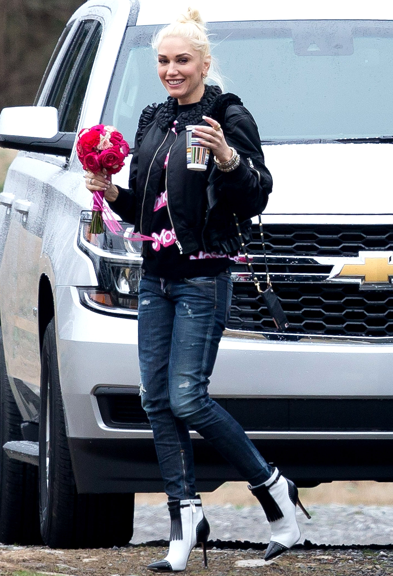 Gwen Stefani - Here comes the bride? Stefani attended the Nashville wedding of Shelton's hair stylist Amanda Craig in January — and she even nabbed the bouquet .