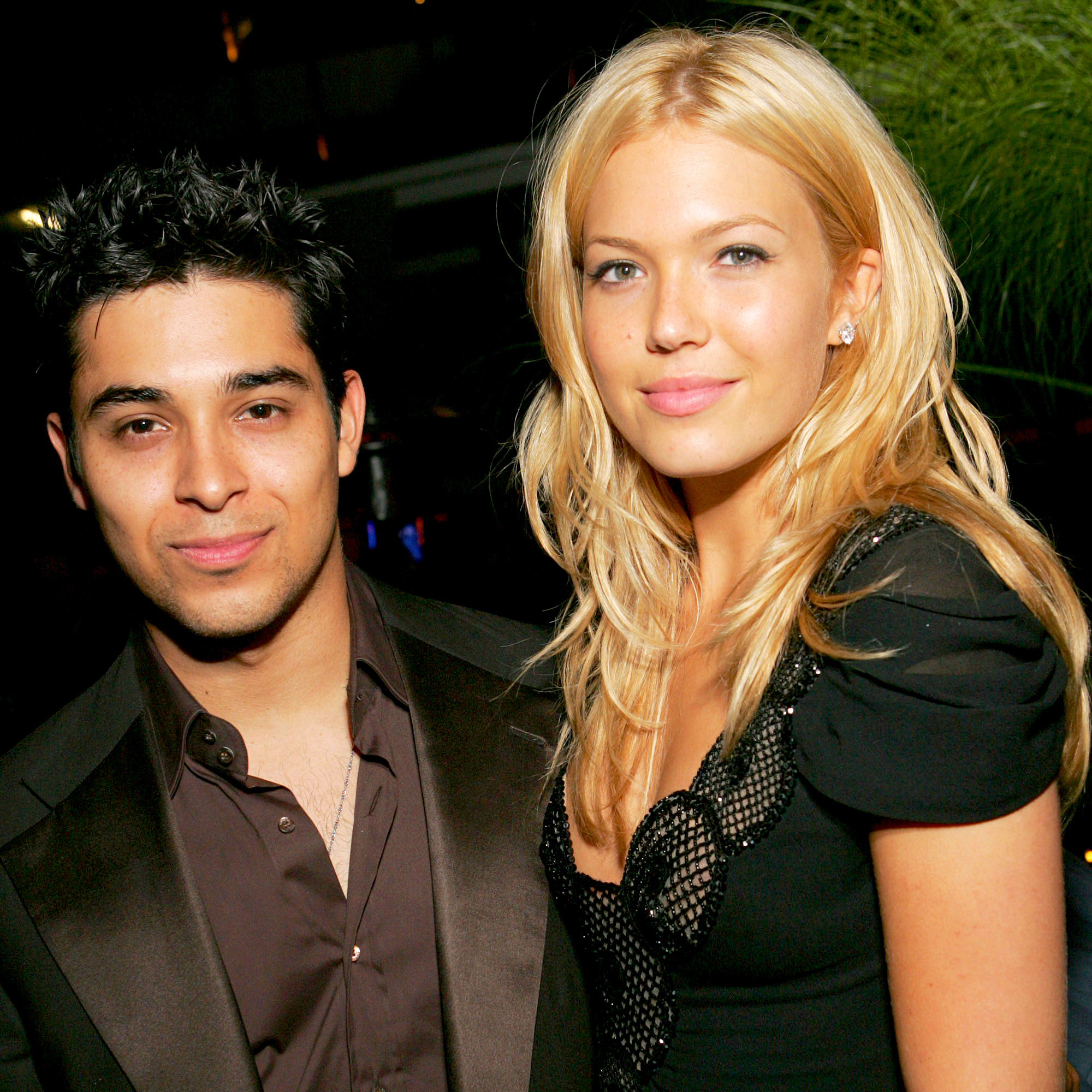 Wilmer Valderrama and Mandy Moore