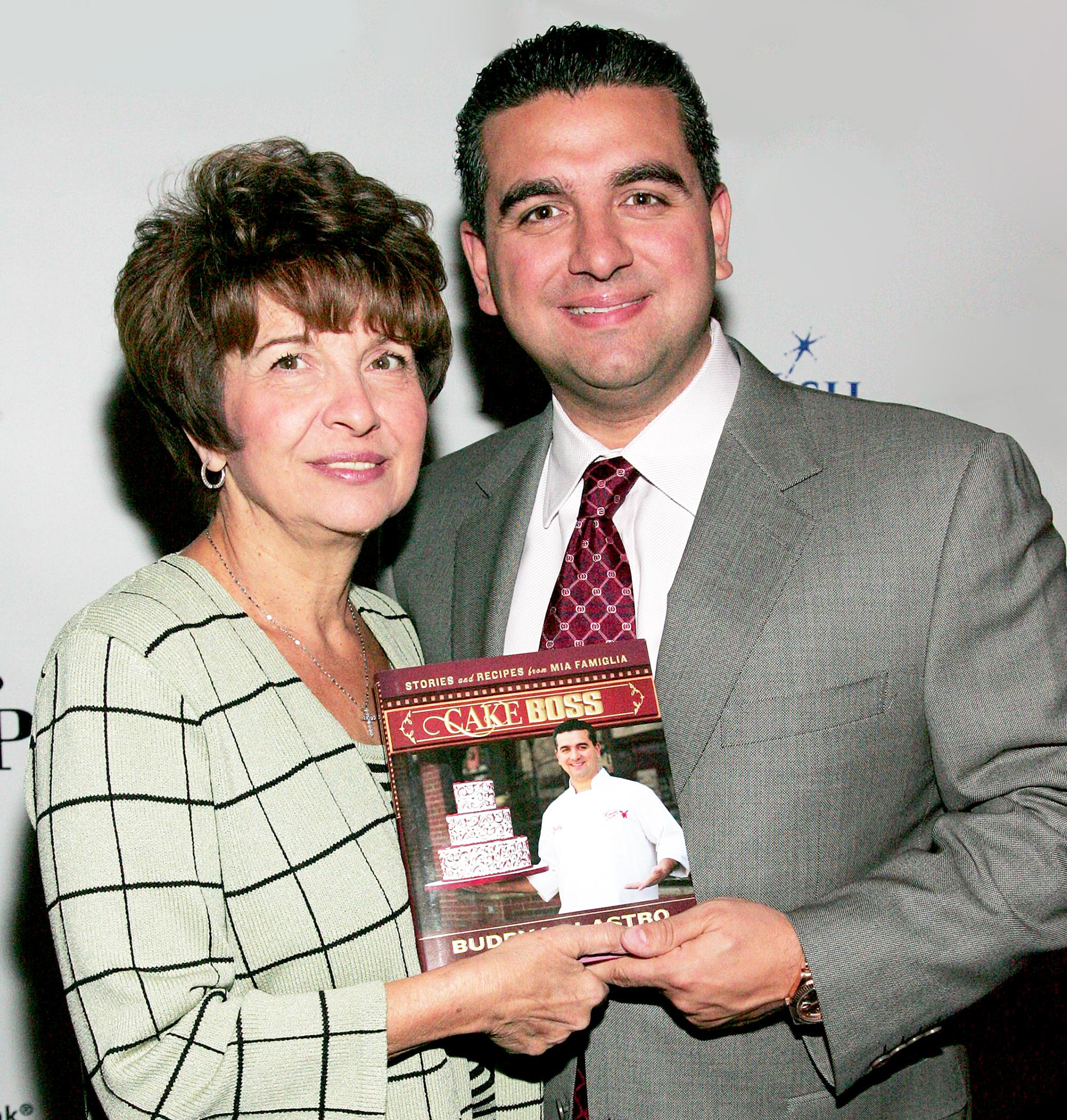 Buddy Valastro and Mary Valastro