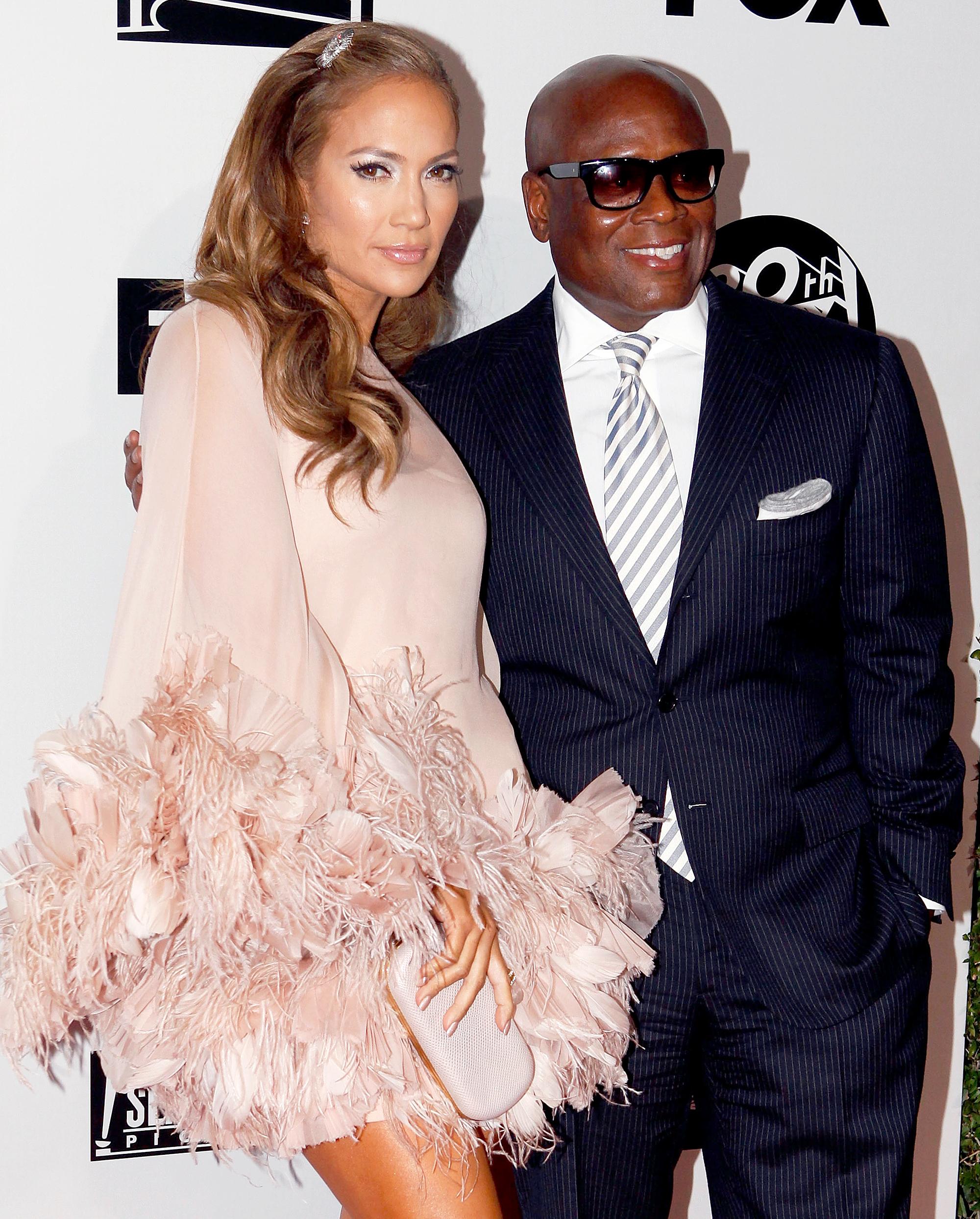 Jennifer Lopez and L.A. Reid
