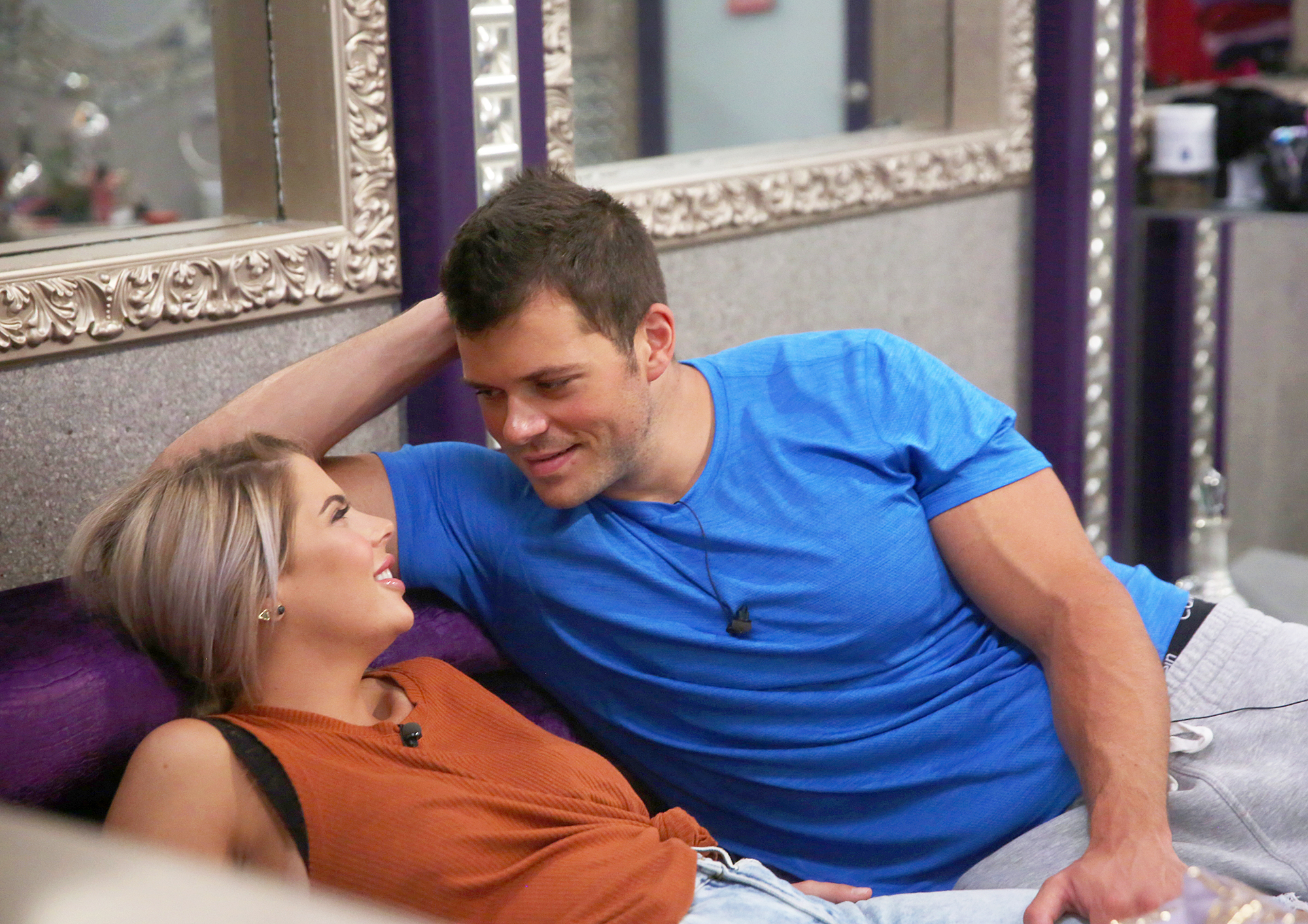 Elena Davis and Mark Jansen Big Brother