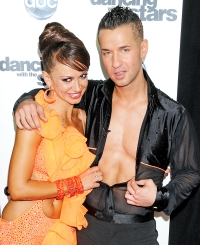 "Karina Smirnoff and Mike ""The Situation"" Sorrentino"
