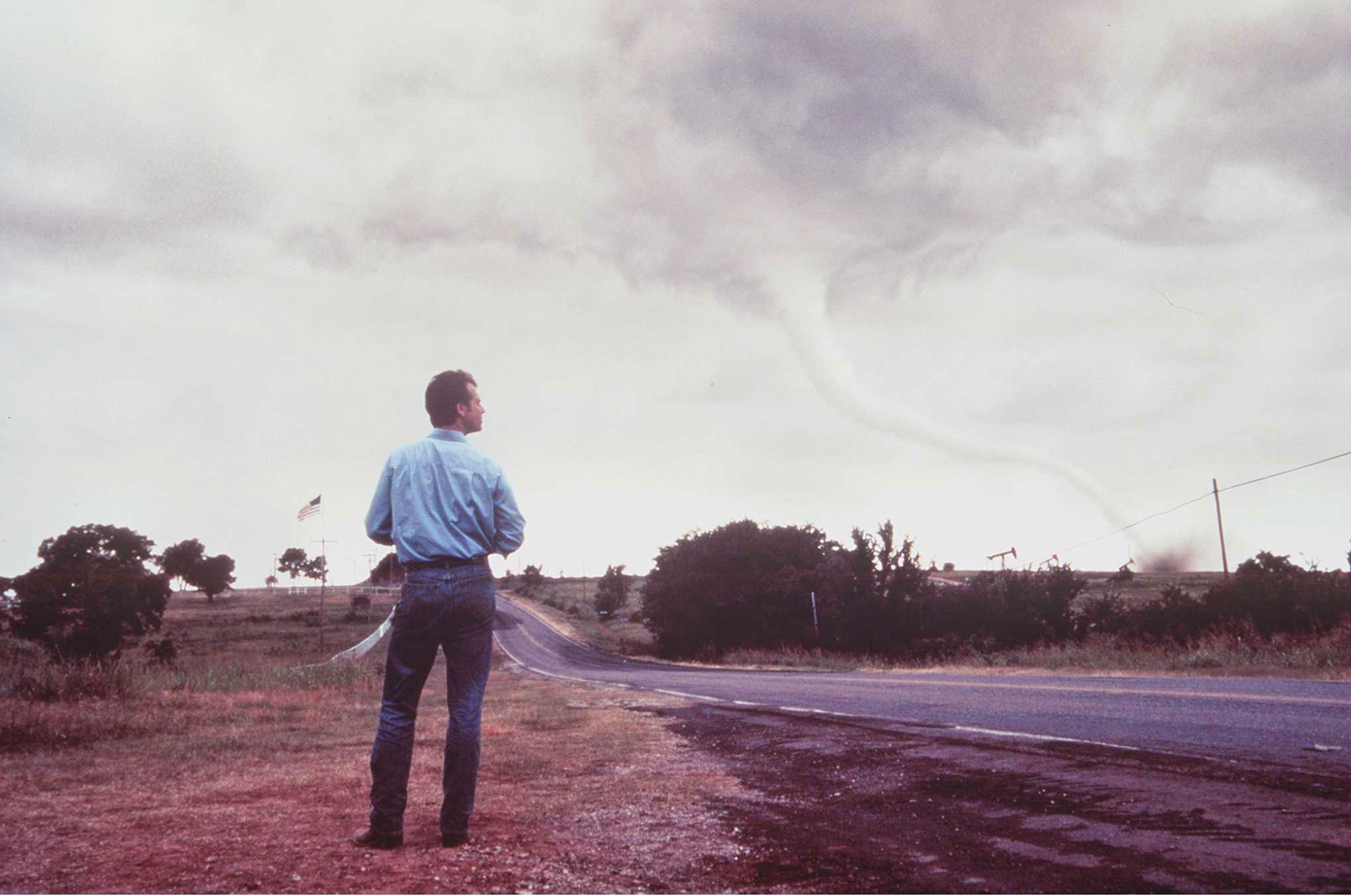 Bill Paxton As Harding In Twister Getty Images