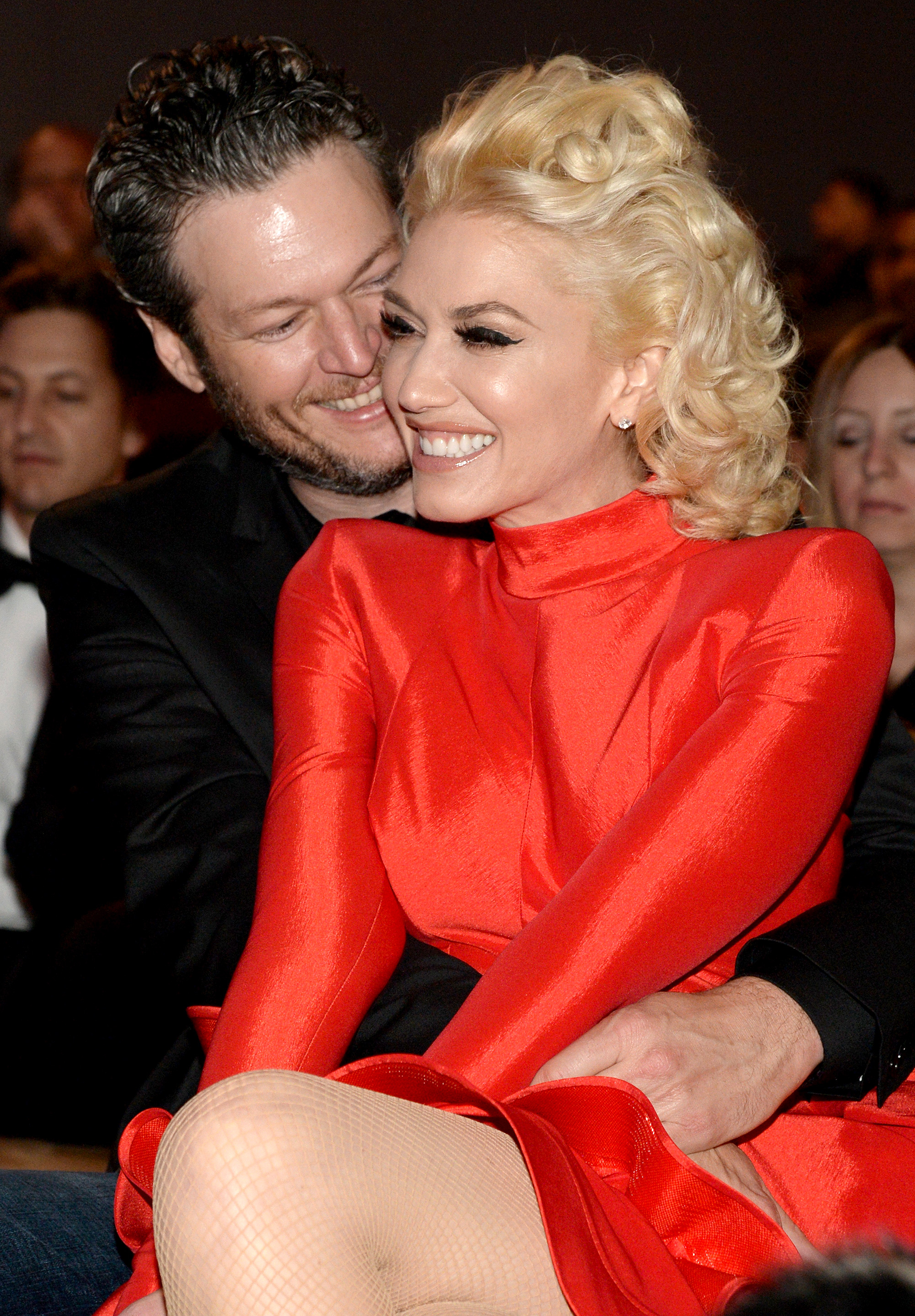 Blake Shelton Gwen Stefani - Love was definitely in the air. Stefani and Shelton made their red carpet debut at the Vanity Fair 2016 Oscars afterparty , where the No Doubt singer performed.