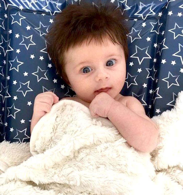 Jesse at ten weeks.