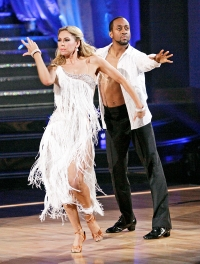 Kym Johnson and Jaleel White