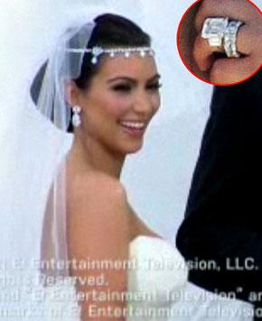 Kim Kardashian Wedding Band 30 Lovely