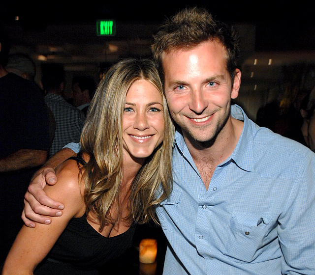 """The two went on a dinner date in NYC on June 18, 2009, but Cooper pumped the breaks on their fledgling romance when he decided to get serious with another A-list beauty: Renee Zellweger . """"Jen wanted to turn her date with Bradley into something,"""" a source told Us at the time."""