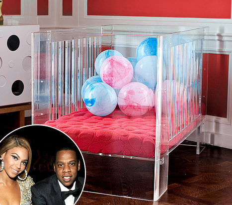 Beyonce Buys Baby Blue Ivy Carter A 3500 Lucite Crib Us