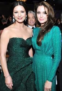 Catherine Zeta-Jones, Michael Douglas and Angelina Jolie