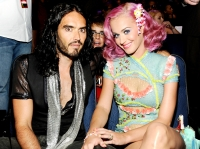 Russell Brand, Justin Bieber and Katy Perry