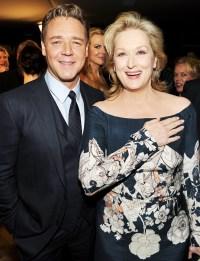 Russell Crowe, Nicole Kidman and Meryl Streep