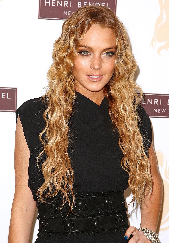 Lindsay Lohans Hair Evolution Us Weekly