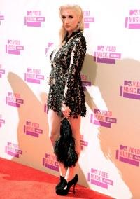 Singer Ke$ha arrives at the 2012 MTV Video Music Awards