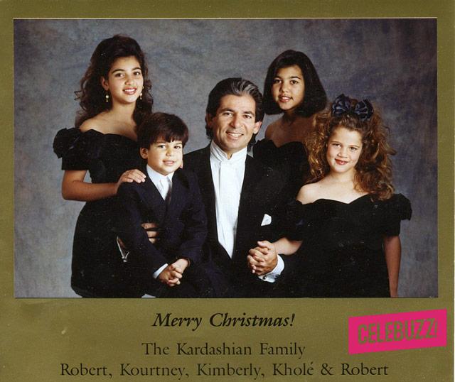 Kardashians Christmas Cards Over The Years