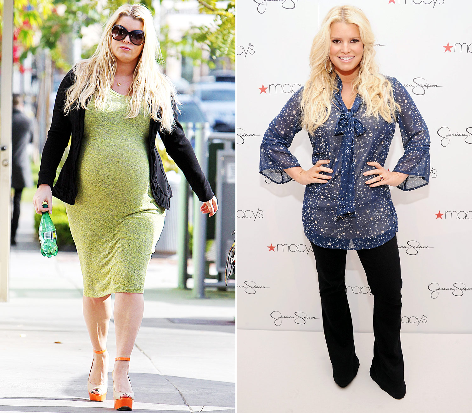 Celebrity Post Baby Bo s Hottest Before and After Us