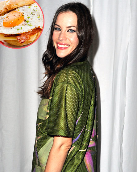 """What Liv Tyler Tells Us: """"Hair of the dog always works. A nice breakfast is also very important."""""""