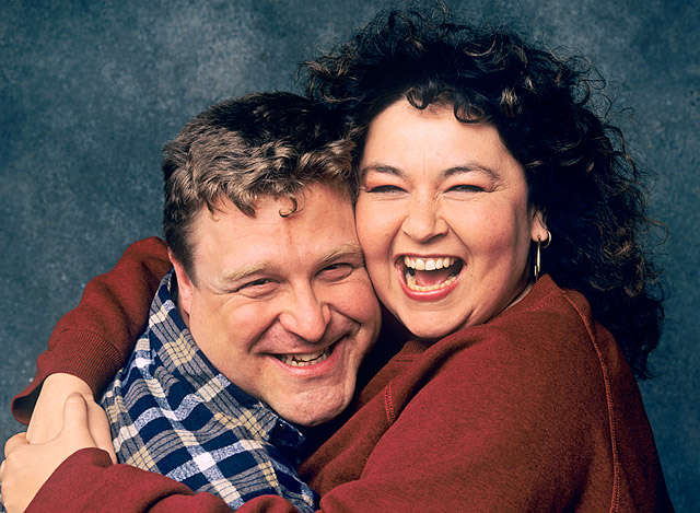 Show: Roseanne Actors: John Goodman and Roseanne Barr Network: ABC Seasons: 9
