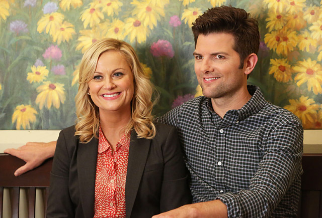 Show: Parks and Recreation Actors: Amy Poehler and Adam Scott Network: NBC Seasons: 5 (as of February 2013)