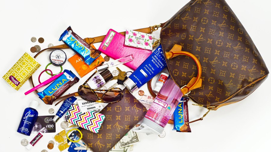 What's In Beverley Mitchell's Bag
