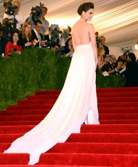 Katie Holmes attends the Costume Institute Gala