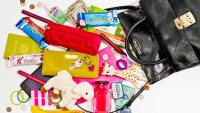 Adriana Lima empties out her purse for Us