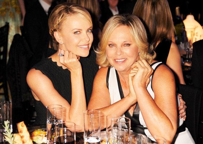 Charlize Theron and Gerda