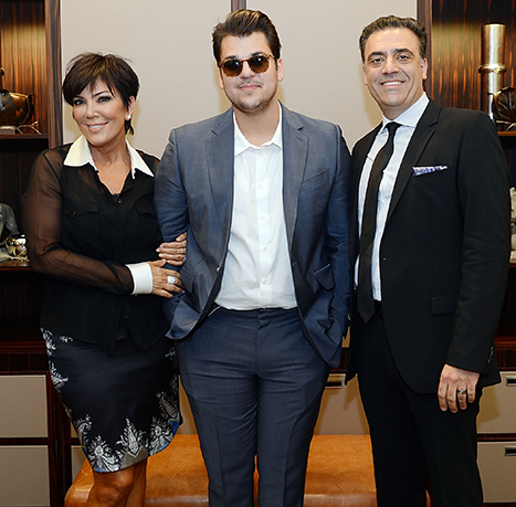 """Rob Kardashian Weight Loss Picture: Wants to Lose """"50 Pounds"""""""