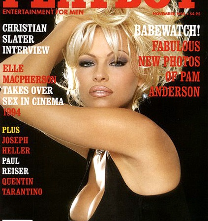 Pamela Anderson's Playboy Covers Through the Years