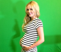 Ambyr Childers is pregnant with her second child.