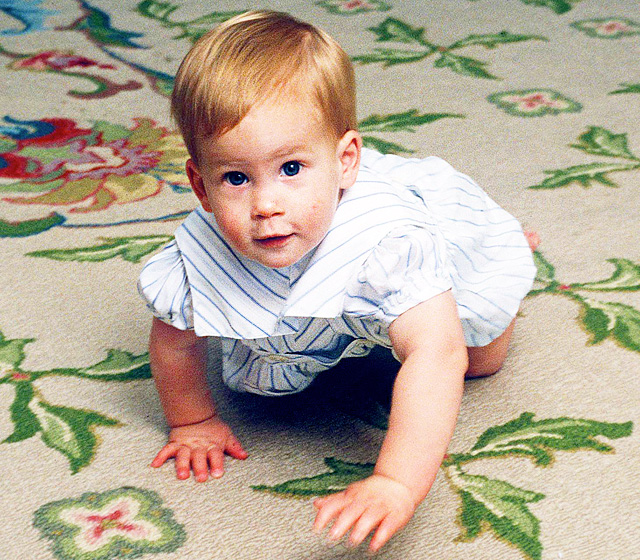 Red-haired, fun-loving Prince Harry was born on September 15, 1984.