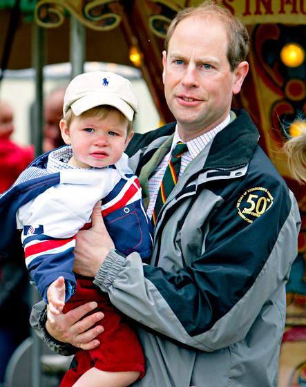 James, Viscount Severn is one of the littlest royals, born on December 17, 2007.