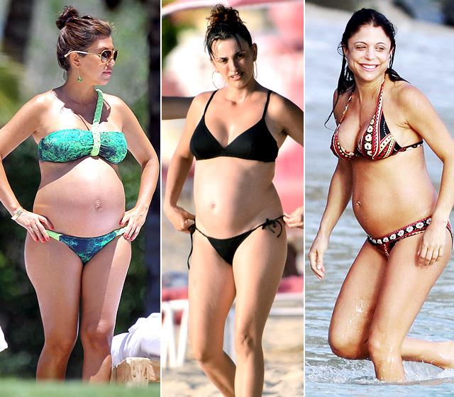 Bikini pregnant pics photo 435