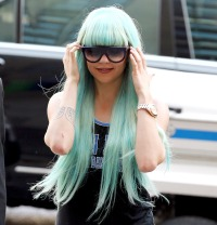 Amanda Bynes Manhattan Criminal Court on July 9, 2013