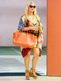 Jessica Simpson in Beverly Hills, Calif. on July 24, 2013