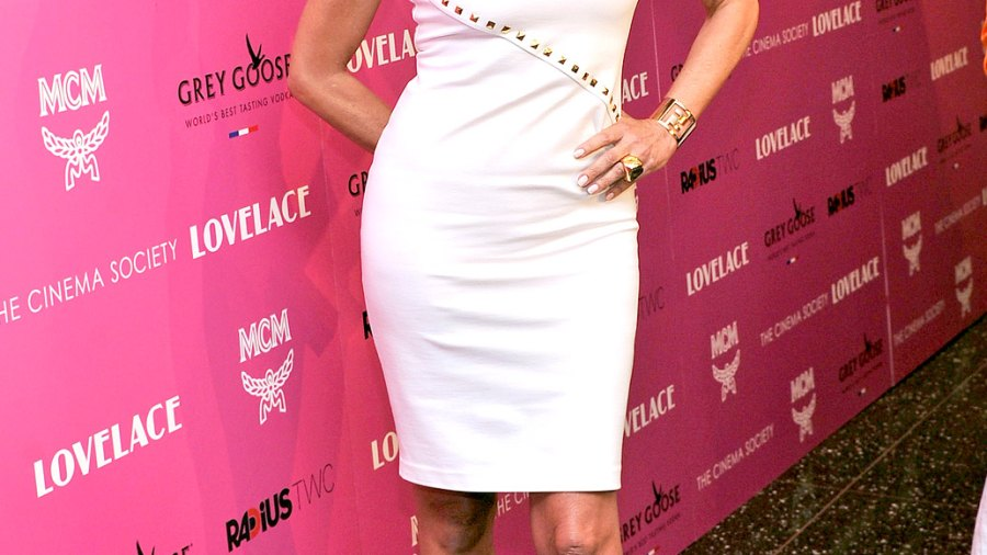 """Sharon Stone at """"Lovelace"""" premiere on July 30, 2013 in New York City."""