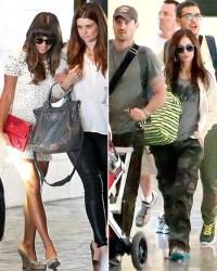 Lea Michele attends Jamie-Lynn Sigler's baby shower; Megan Fox.