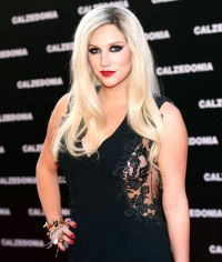 Kesha at the Calzedonia Summer Show Forever Together on April 16, 2013