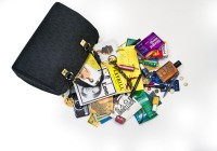 See what's in Tyra Bank's bag