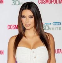 Kim Kardashian on October 4, 2012