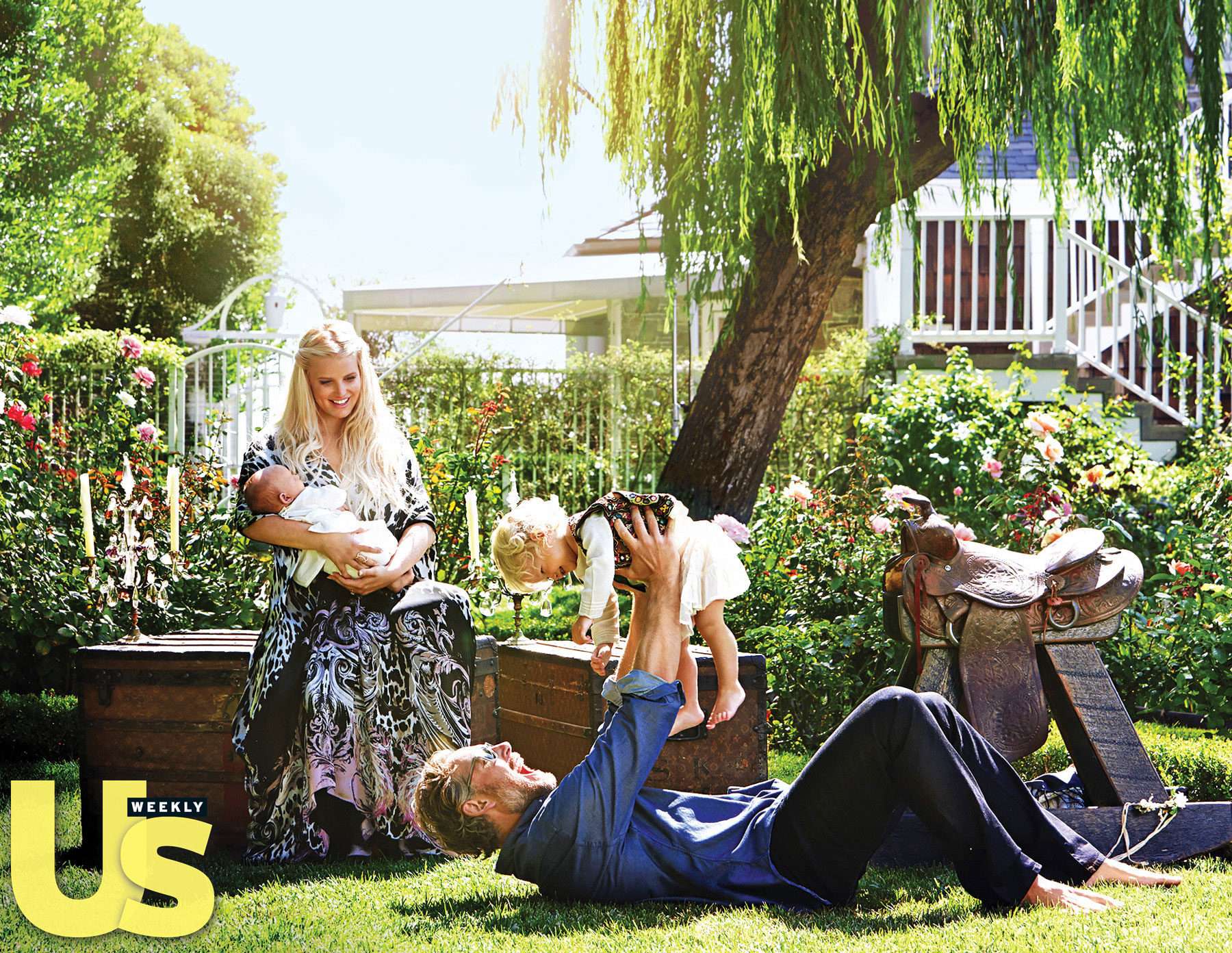 Jessica Simpson s Family Album At Home With Maxwell Baby Ace and